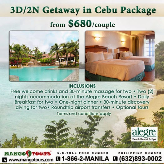 Mango Tours Philippines Alegre Beach Resort & Spa Promo Package Accommodation