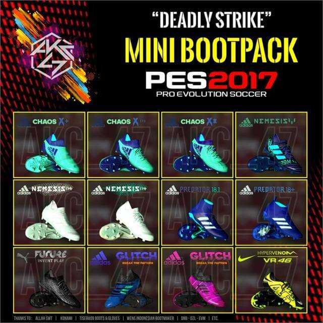 Adidas Deadly Strike Pack Boots PES 2017
