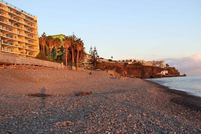 Praia Formosa pebble beach