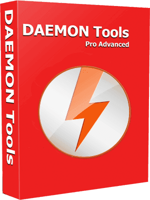 DAEMON Tools Pro 8.2.0.0709 poster box cover