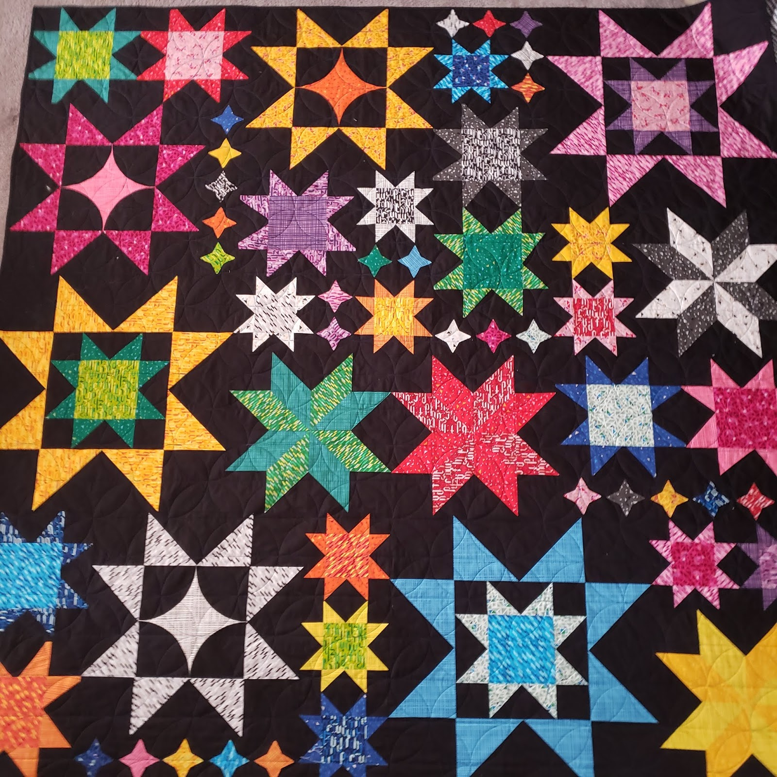 Seeing Stars Quilt Along - Parade and Grand Prizes!!!