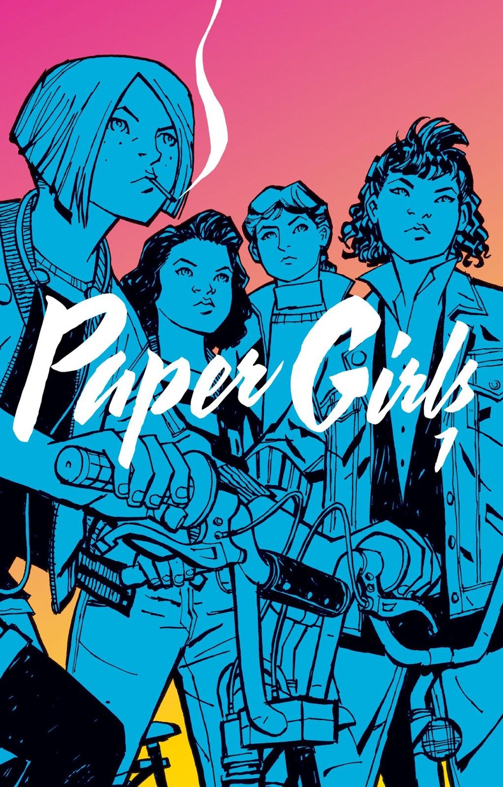 """Crítica de """"Paper Girls"""" (Brian K. Vaughan, Cliff Chiang) por José ..."""