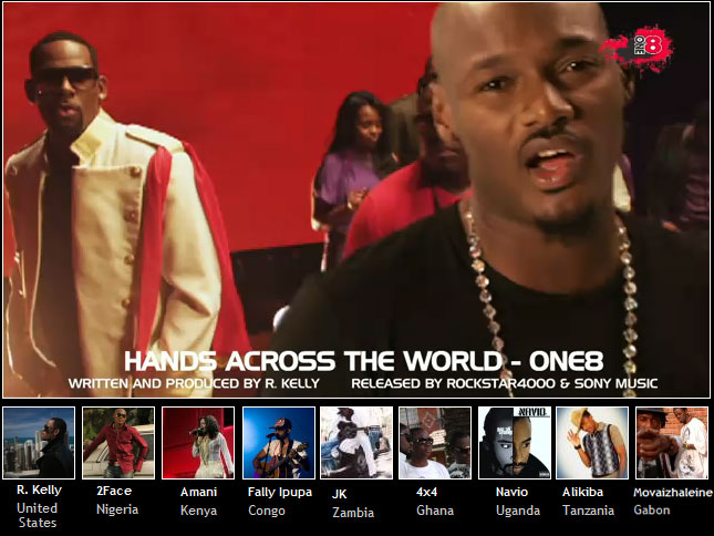 DOWNLOAD VIDEO | R Kelly Ft  Alikiba,2face, 4×4, Amani