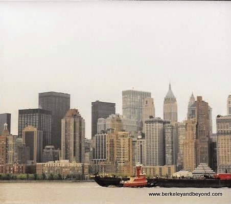 lower Manhattan skyline from Circle Line boat