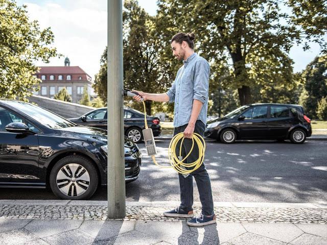 punto recarga rapida coche electrico