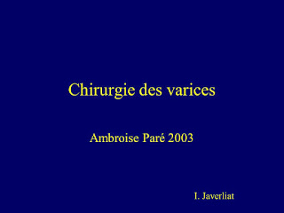 Chirurgie des varices .pdf