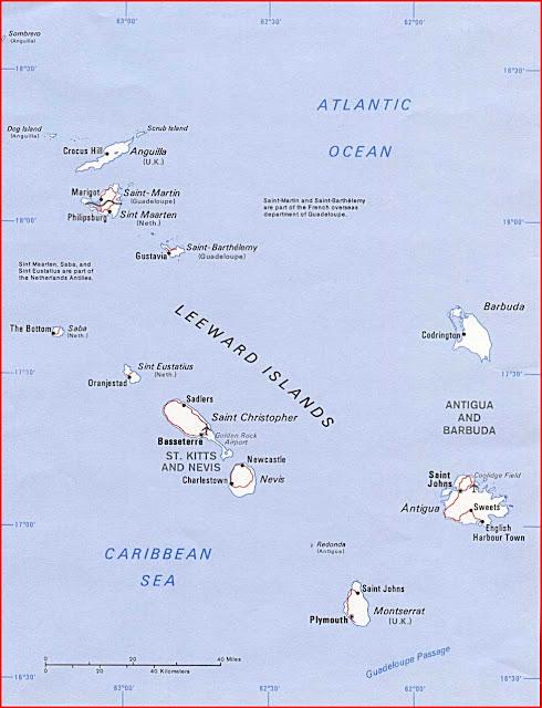 Gambar Peta politik Kepulauan Leeward 1989