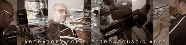 Cross-genre music between free improvisation and electroacoustic composition