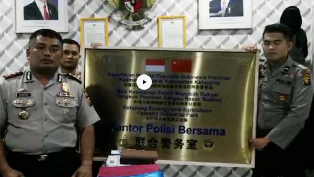 Imbas Kerjasama Ilegal dengan Polisi Jiangzu Cina, Kapolres Ketapang Dicopot