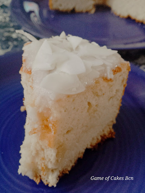Angel Food Cake de Coco