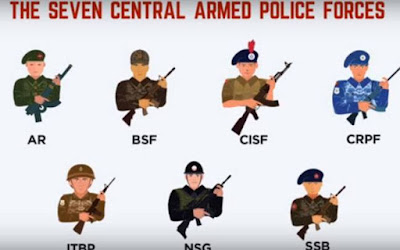 Know about India's seven paramilitary forces and their roles