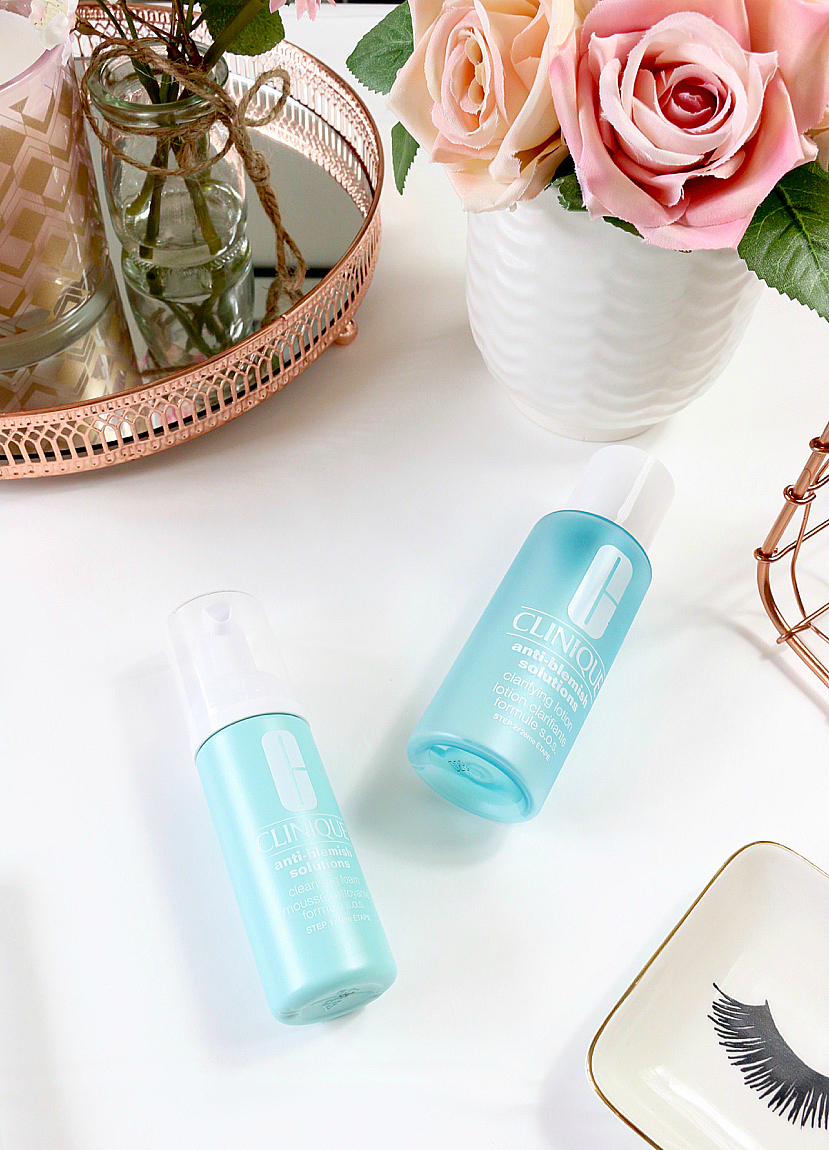 May Beauty Favourites 2018 including Clinique Anti Blemish 3 Step System