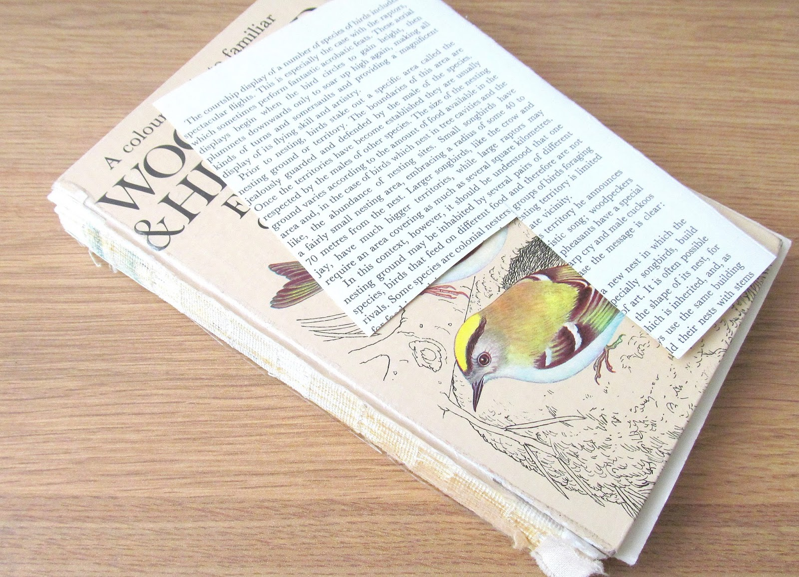 a book to upcycle