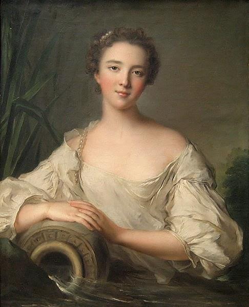Louise Henriette de Bourbon-Conti by Jean-Marc Nattier, 1750
