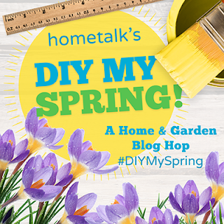 Hometalk's DIY MY SPRING! A Home & Garden Blog Hop #DIYMySpring, Paintbrush, Ruler, Crocuses