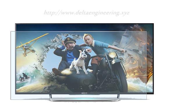 غطاء حماية شاشة تلفزيون 55 بوصة