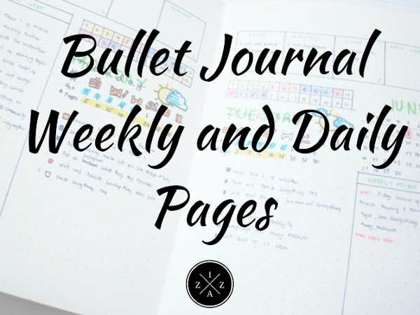 Bullet Journal Weekly and Daily Pages