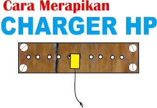 Cara Merapikan Charger Hp dengan Wadah Khusus