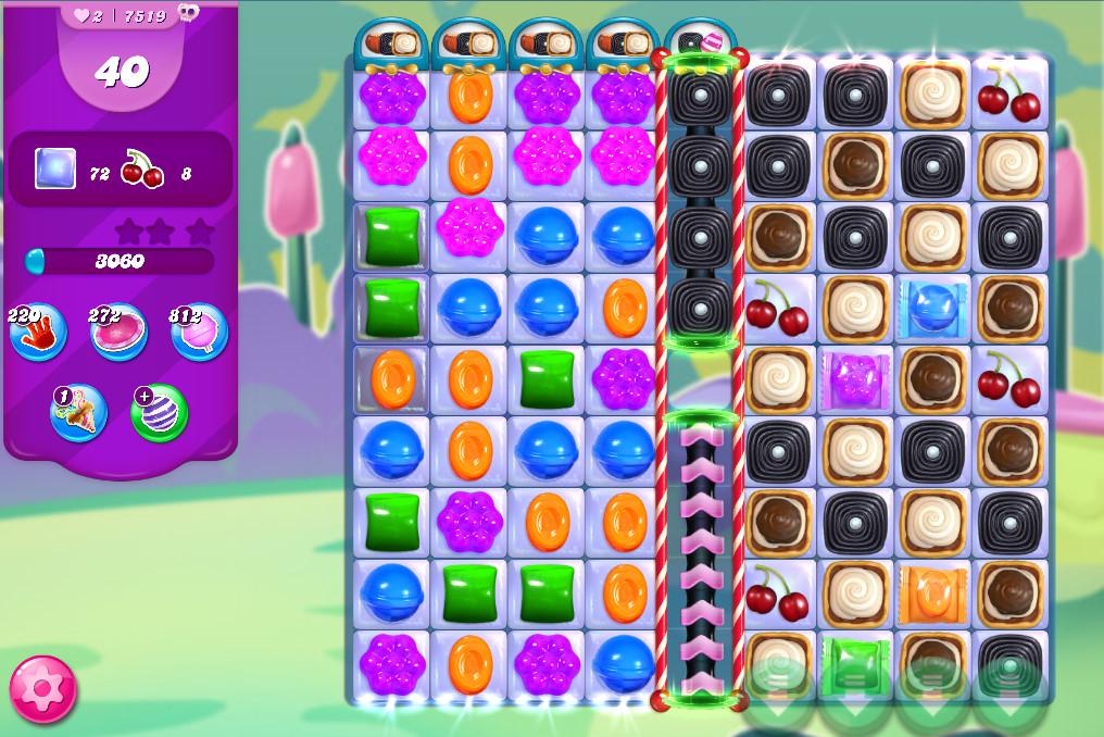 Candy Crush Saga level 7519