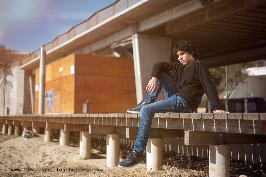 Moda hombre | Outfit casual | Entretiempo | Jersey Pull&Bear