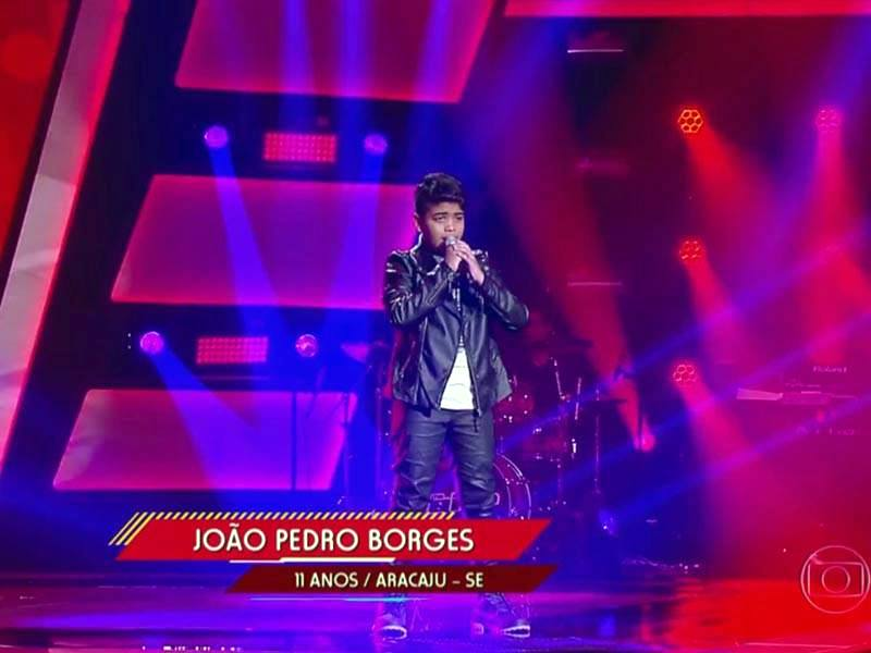João Pedro é eliminado nas batalhas do The Voice Kids 2016