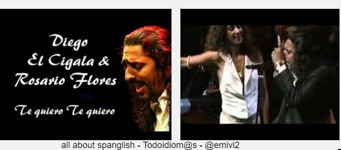 All About Spanglish Rosario Flores Con El Cigala Te