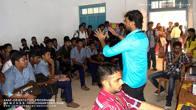 Students Orientation Programme -Team Vismayasmax with ASAP(Additional Skill Acquisition Programme) @Thiruvananthapuram