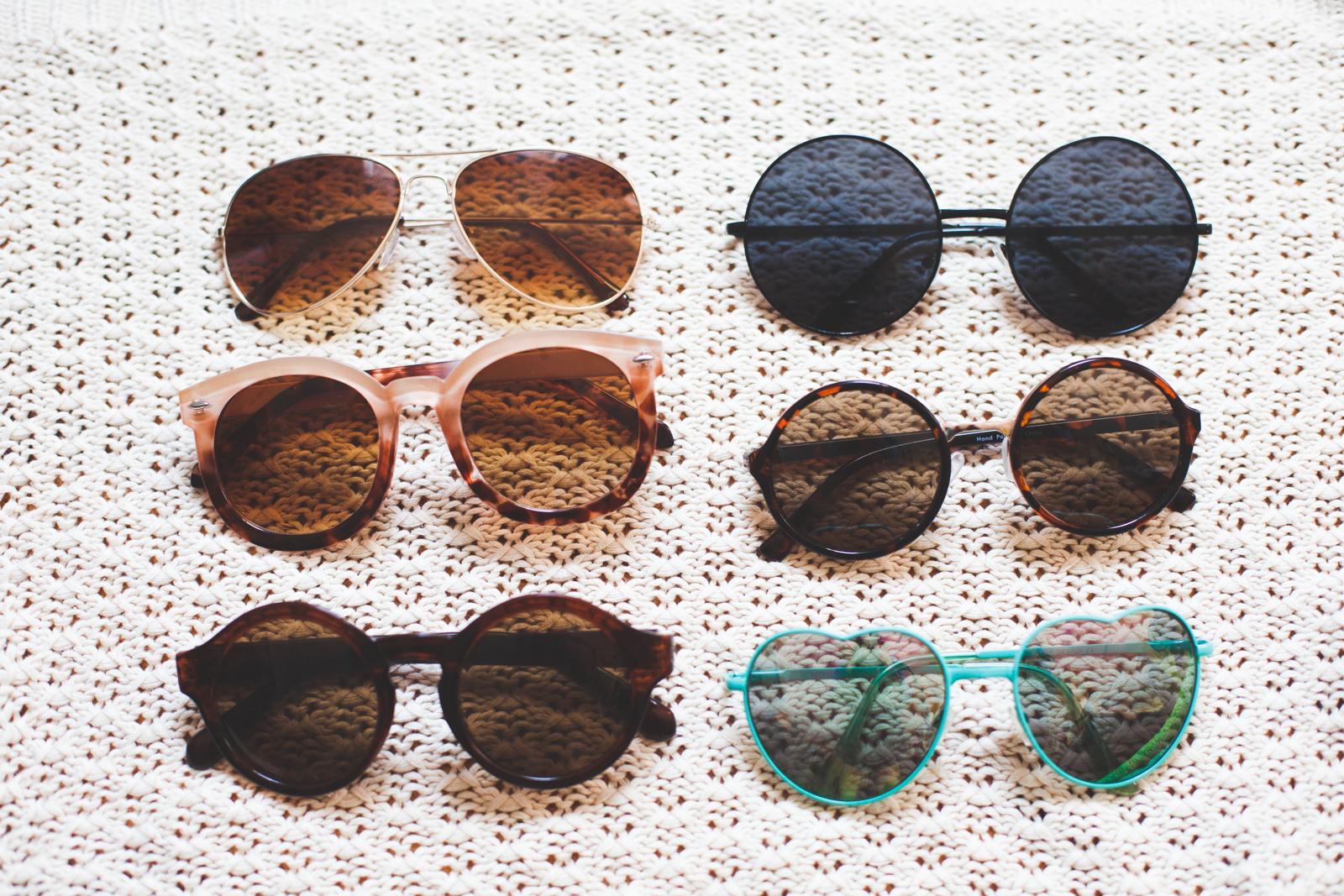 Sunglasses Storage Solution