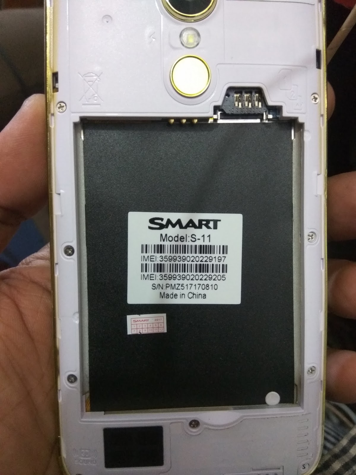 Smart S11 Flash File