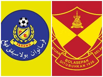 Live Streaming Pahang vs Selangor Liga Super 26.6.2018