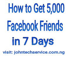 Get 5,000 Facebook friends in 7 days