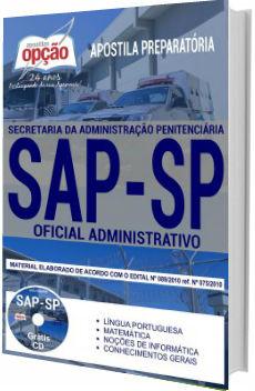 Apostila SAP-SAP Oficial de Administrativo