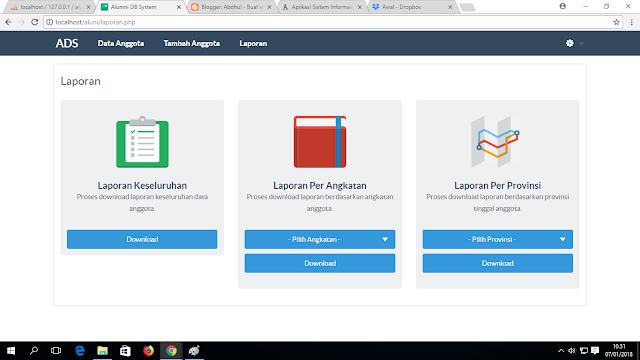 2. - Download Source Code Sistem Informasi Alumni Berbasis Web