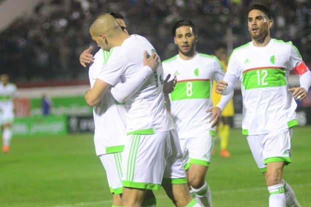 Mahrez et Slimani sous les mêmes couleurs la saison prochaine ?