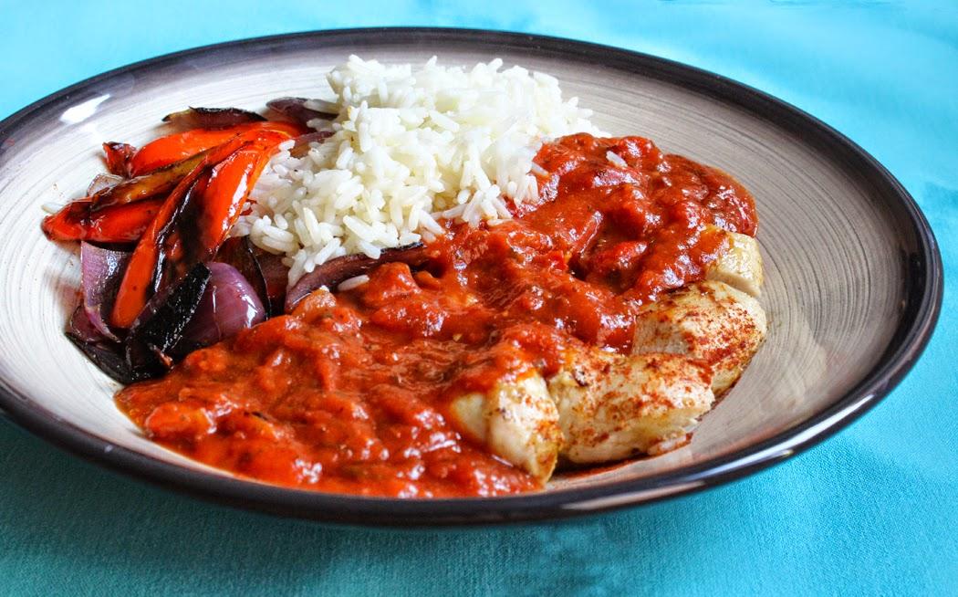 Chicken with Chorizo and Chilli