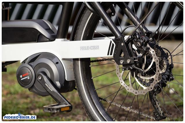 Mit einem zulässigen Gesamtgewicht von 160 Kilogramm lässt sich einiges auf dem Packster 40 von Riese & Müller transportieren.