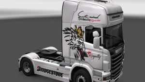 Scania R Griffin by prime movers lovers