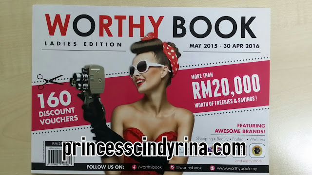 worthy book ladies edition May 2015 - 30 Apr 2016