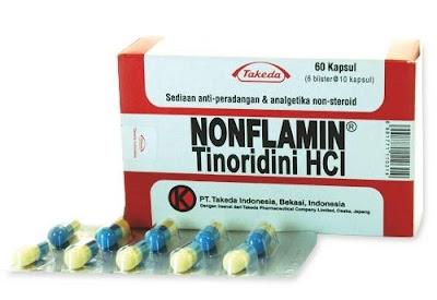 Harga Nonflamin Capsule Obat Anti Inflamasi dan Analgetik Terbaru 2017