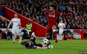 صلاح يبهر العالم في موقعة Liverpool Vs Roma