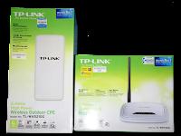 Cara Setting TL-WA5210G dan TL-WR740N Untuk Berbagi Koneksi Internet Gratis