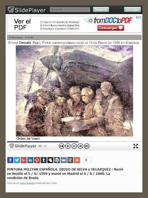 PINTURA MILITAR-ESPAÑA-ARTE-SLIDEPLAYER-PINTURAS-PREMIOS-EJERCITO-ARTISTA-PINTOR-ERNEST DESCALS