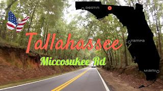 Tallahassee Miccosukee Rd, Florida USA