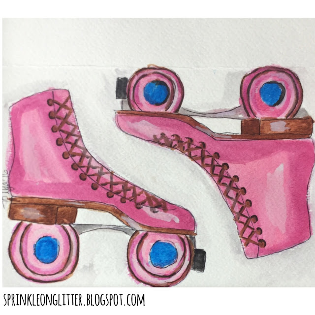 Sprinkle On Glitter Blog// Instagram Roundup// rollerskates