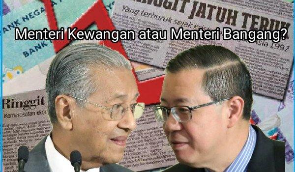 Menteri Kewangan atau Menteri Bangang?