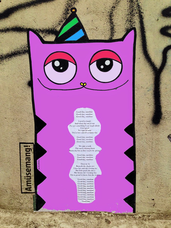 scheisse schlechte laune gute laune berlin gedicht street art steert peotry poertry slam berlin
