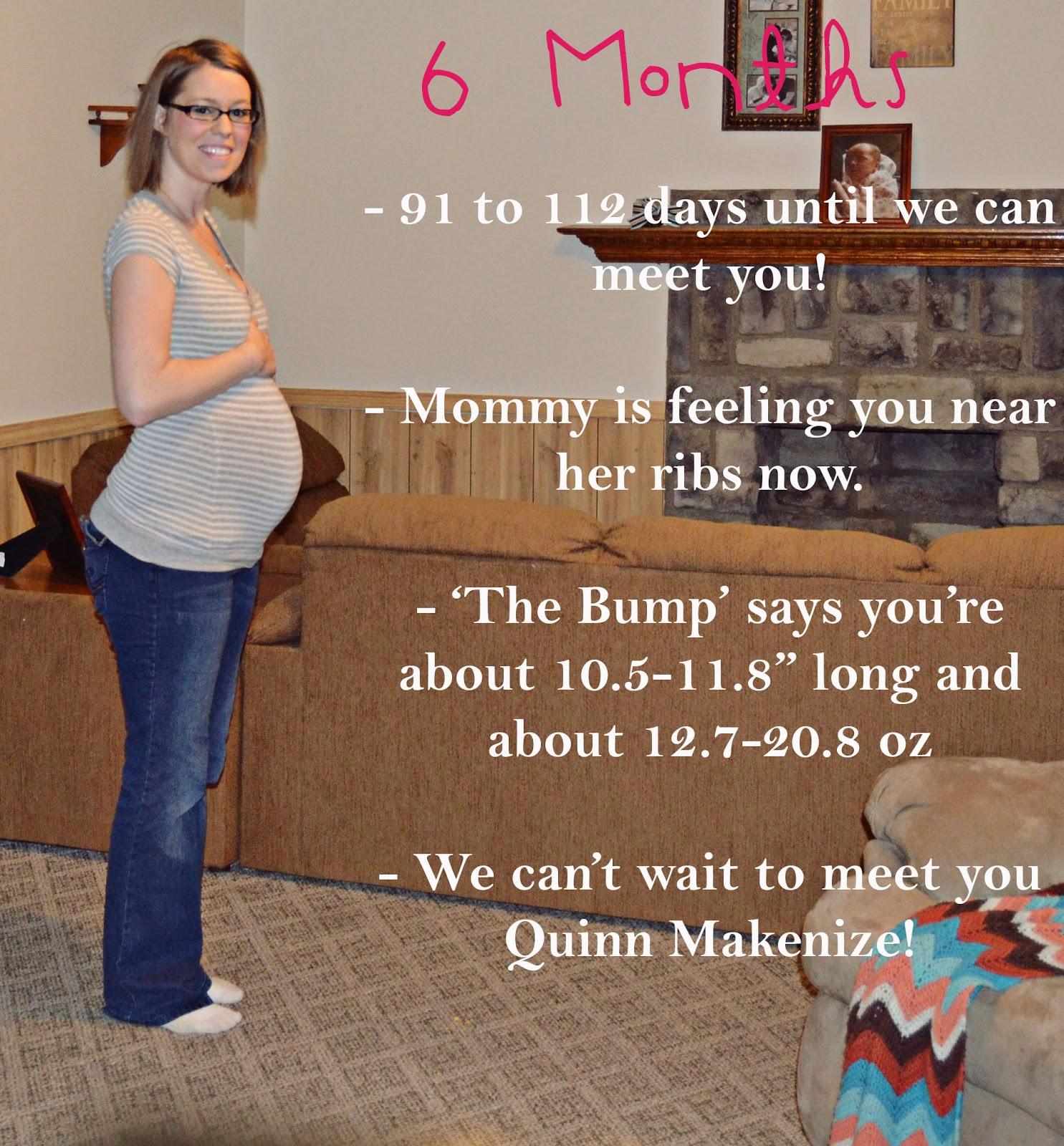 6 Months Pregnant!