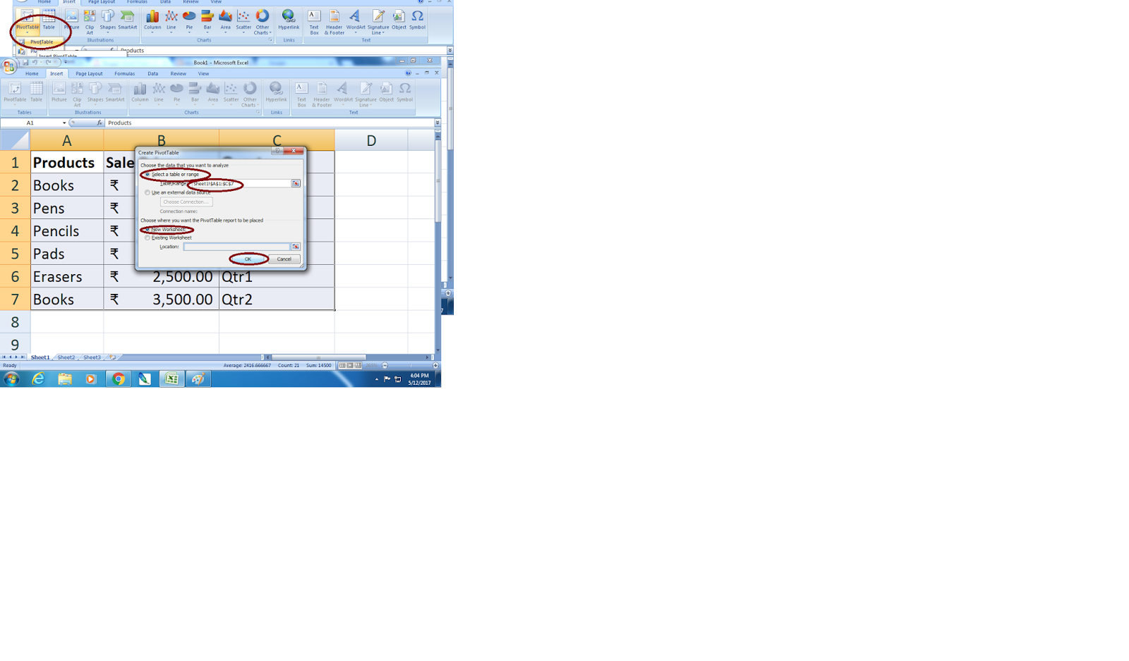 How To Use Excel Pivot Tables