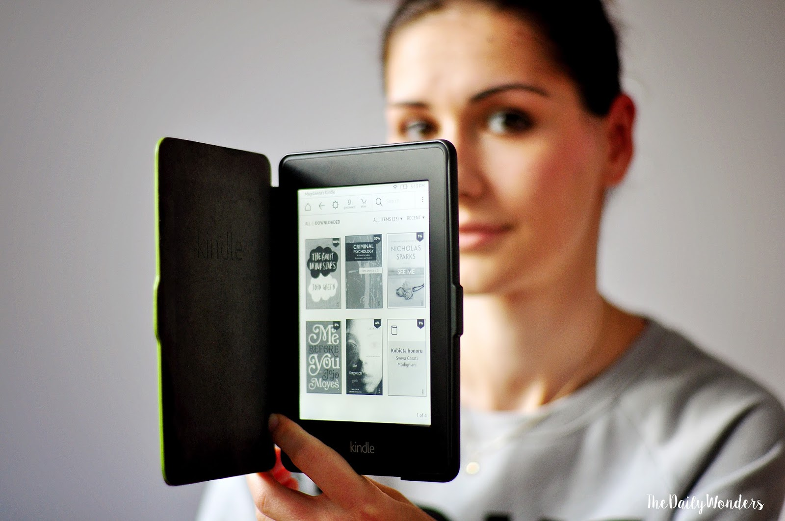 Reader Amazon Kindle Paperwhite