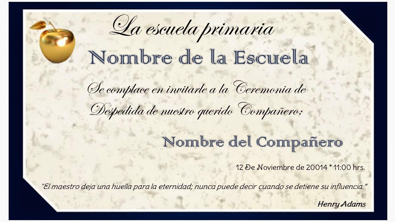 El Blog De Rojita Invitacion Para La Ceremonia De